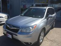 Introducing the 2014 Subaru Forester! The safety you