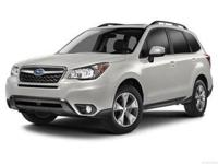Introducing the 2014 Subaru Forester! Demonstrating