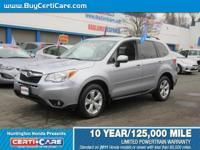 This 2014 Subaru offered at Certicare  Huntington.  The