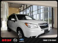 This 2014 Subaru Forester is a dream to drive. This