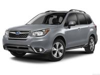 SUBARU CERTIFIED, ONE OWNER, and CLEAN CARFAX. Forester