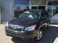 Introducing the 2014 Subaru Forester! For drivers