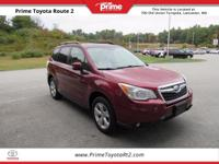 New Price! 2014 Subaru Forester 2.5i Touring in Red.