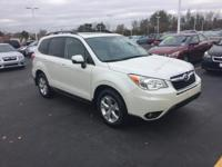 22,000 mile AWD Certified Pre Owned Forester Touring