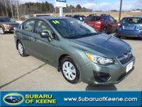 Discerning drivers will appreciate the 2014 Subaru