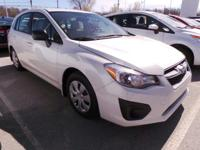 Come see this 2014 Subaru Impreza Wagon 2.0i. Its
