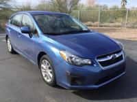 Impreza 2.0i Premium, 4D Hatchback, All Wheel Drive!