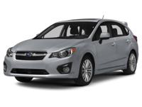 2014 Subaru Impreza 2.0i Sport Limited in Silver custom