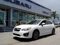 One Owner. Impreza 2.0i Sport Premium CPO, Subaru