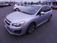 Like new 2014 Subaur Impreza Wagon with Sport Premium