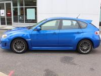 Black 2014 Subaru Impreza WRX AWD 5-Speed Manual 2.5L