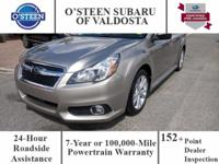This 2014 Subaru Legacy 2.5i is offered to you for sale