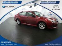 Check out this 2014 Subaru Legacy 2.5i. Its Variable