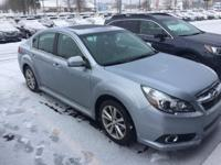 Check out this gently-used 2014 Subaru Legacy we