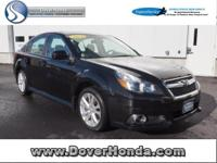 Carfax 1 Owner! Accident Free! 2014 Subaru Legacy 2.5i