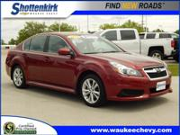 Options:  2014 Subaru Legacy 2.5I Premium|Awd 2.5I