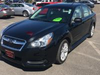 Options:  2014 Subaru Legacy 2.5I Premium|Black|84|784