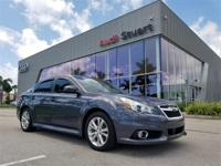 Clean CARFAX. Carbide Gray Metallic 2014 Subaru Legacy