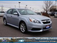 Say hello to the impressive 2014 Subaru Legacy 2.5i