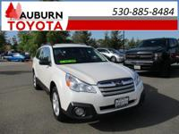1 OWNER, AWD, BLUETOOTH!  This 2014 Subaru Outback 2.5i