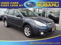 Take command of the road in the 2014 Subaru Outback!