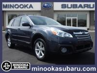 Load your family into the 2014 Subaru Outback! Offering