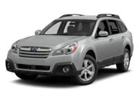 Outstanding design defines the 2014 Subaru Outback.