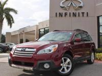2014 Subaru Outback 2.5i Limited, ONLY 29029 Miles,