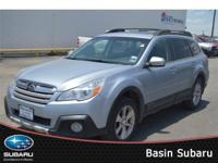 Command attention in our 2014 Subaru Outback 2.5i