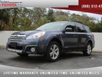 2014 Subaru Outback 2.5i Limited AWD, *** 1 FLORIDA