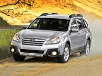 2014 Subaru Outback 2.5i 30/24 Highway/City MPG
