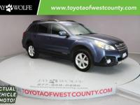 You are going to LOVE our One Owner 2014 Subaru Outback