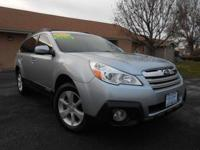 2014 SUBARU OUTBACK PREMIUM ALL-WHEEL DRIVE! WITH A