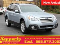 Clean CARFAX. This 2014 Subaru Outback 2.5i in Twilight
