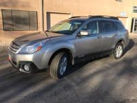 Options:  2014 Subaru Outback 2.5I|Gray|This Outback
