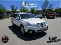 LOW MILES, AWD, BLUETOOTH!  This 2014 Subaru Outback