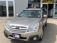 Load your family into the 2014 Subaru Outback! It