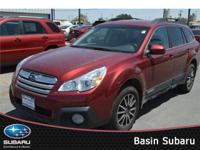 One look at our refreshed 2014 Subaru Outback 2.5i