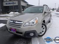 Options:  2014 Subaru Outback 2.5I|3.90 Axle