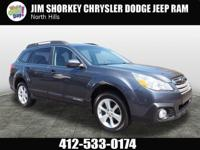 2014 Subaru Outback 2.5i New Price! CARFAX One-Owner.