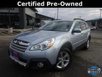 CARFAX One-Owner. Clean CARFAX. Certified. *SUBARU
