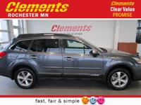 Options:  2014 Subaru Outback 4Dr Wgn H6 Auto 3.6R