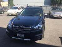 2014 Subaru Outback 3.6R in Blue Pearl custom features