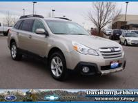 Subaru and 2014 bring you a beautiful Outback 2.5i