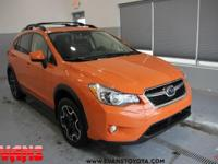 Clean CARFAX. Tangerine Orange Pearl 2014 Subaru XV