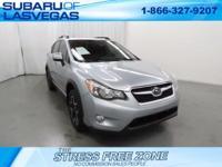 Certified. Clean CARFAX.   Silver 2014 Subaru XV