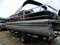 - Stock #77450 - SUN TRACKER PONTOON boats are in