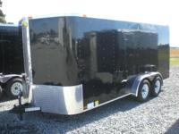 24 ROCK GUARD, 36' SIDE DOOR, ELECTRIC BRAKES, IN LT. W