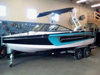 New Super Air Nautique 210.  Merely shown up for 2014!