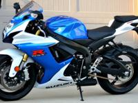 2014 Suzuki GSXR 750 Excellent Condition !!! 930 miles